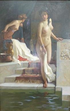 Kamke, Susanna i badet