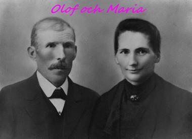 Olof och Maria Nilsson